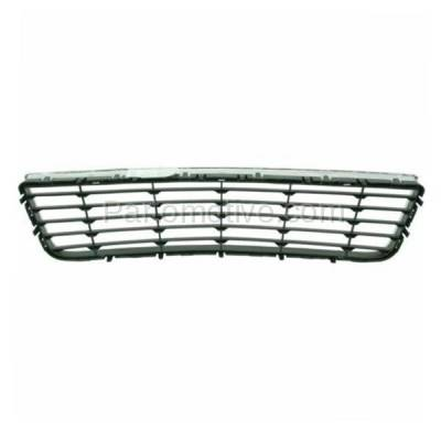 Aftermarket Replacement - GRL-1515C CAPA 06-11 Chevy Impala Front Lower Bumper Grill Grille GM1036106 10333711 - Image 3
