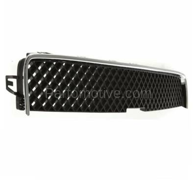 Aftermarket Replacement - GRL-1725C CAPA 05-09 Chevy Uplander Van Front Upper Grill Grille GM1200575 15184657 - Image 2