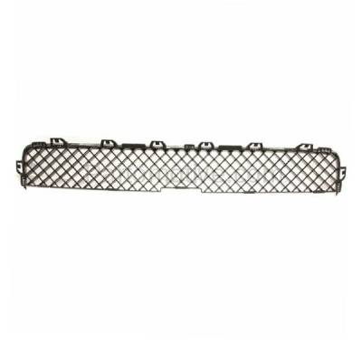 Aftermarket Replacement - GRL-1725C CAPA 05-09 Chevy Uplander Van Front Upper Grill Grille GM1200575 15184657 - Image 3