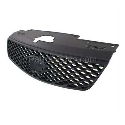 Aftermarket Replacement - GRL-1978C CAPA Front Grill Grille Honeycomb Insert KI1200125 863611G010 Fits 06-09 Rio - Image 2