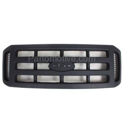 Aftermarket Replacement - GRL-1501C CAPA 06-07 SuperDuty Pickup Truck Front Grill Grille XL FO1200482 6C3Z8200AA - Image 1