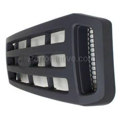 Aftermarket Replacement - GRL-1501C CAPA 06-07 SuperDuty Pickup Truck Front Grill Grille XL FO1200482 6C3Z8200AA - Image 2