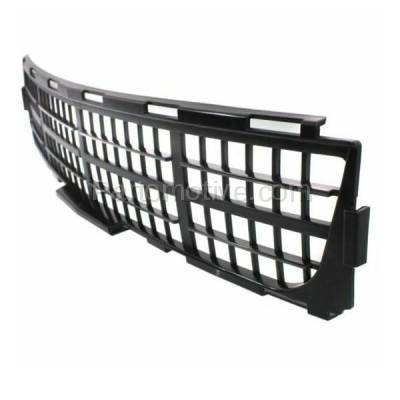 Aftermarket Replacement - GRL-1539C CAPA 11-14 Chevy Cruze Lower Bumper Grill Grille Black GM1036134 95963008 - Image 2