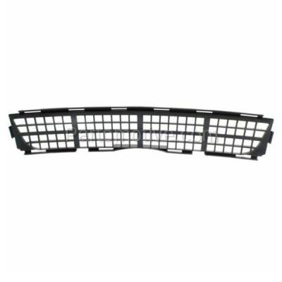 Aftermarket Replacement - GRL-1539C CAPA 11-14 Chevy Cruze Lower Bumper Grill Grille Black GM1036134 95963008 - Image 3