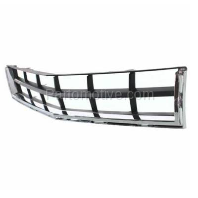 Aftermarket Replacement - GRL-1534C CAPA 10 11 12 SRX Lower Bumper Grill Grille Chrome/Black GM1036129 25778326 - Image 2