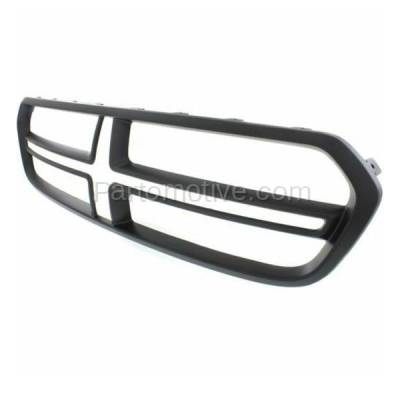Aftermarket Replacement - GRL-1348C CAPA NEW 14-15 Durango Front Grill Grille Black Shell CH1200379 1XV16TZZAB - Image 2