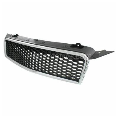 Aftermarket Replacement - GRL-1788C CAPA 09 10 11 Chevy Aveo5 Front Grill Grille Chrome Frame GM1200668 96808248 - Image 2