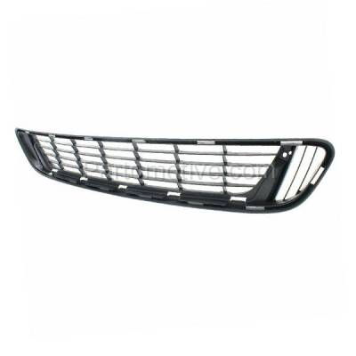 Aftermarket Replacement - GRL-2398C CAPA 13-15 Venza Front Lower Bumper Grill Grille Black TO1036137 531120T021 - Image 2