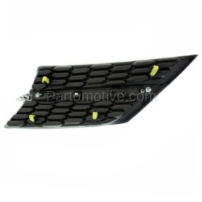 Aftermarket Replacement - GRL-1099RC CAPA 13-15 RAV4 Front Grill Grille Passenger Side TO1200361 531050R010 - Image 3