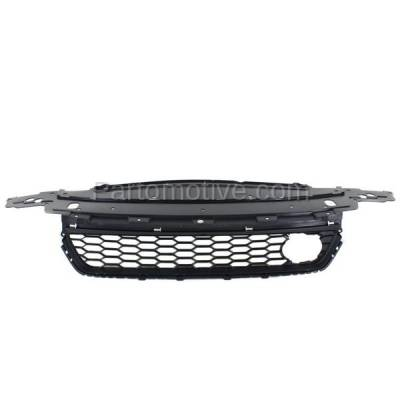 Aftermarket Replacement - GRL-1805C CAPA 13-15 Civic Front Lower Bumper Cover Grill Grille HO1036117 71103T2AA10 - Image 1