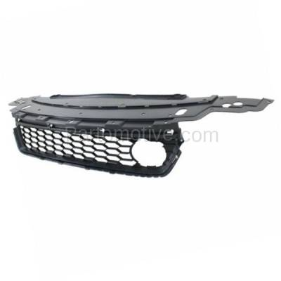 Aftermarket Replacement - GRL-1805C CAPA 13-15 Civic Front Lower Bumper Cover Grill Grille HO1036117 71103T2AA10 - Image 2