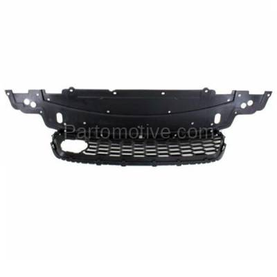 Aftermarket Replacement - GRL-1805C CAPA 13-15 Civic Front Lower Bumper Cover Grill Grille HO1036117 71103T2AA10 - Image 3