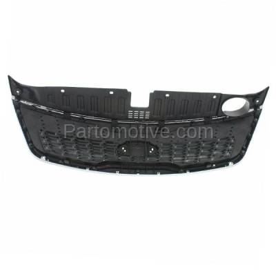 Aftermarket Replacement - GRL-1998C CAPA Front Grill Grille w/o Sport Pkg KI1200155 863501U500 For 14-15 Sorento - Image 3