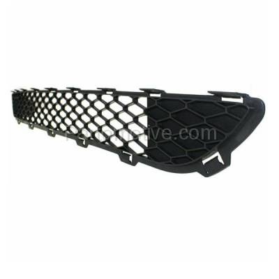 Aftermarket Replacement - GRL-2373C CAPA 06-10 Sienna Front Lower Bumper Grill Grille Black TO1036110 53112AE020 - Image 2