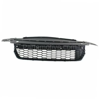 Aftermarket Replacement - GRL-1802C CAPA 13 14 15 Accord Sedan Front Bumper Grill Grille HO1036114 71103T2AA00 - Image 1