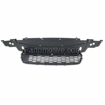 Aftermarket Replacement - GRL-1802C CAPA 13 14 15 Accord Sedan Front Bumper Grill Grille HO1036114 71103T2AA00 - Image 3