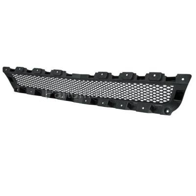 Aftermarket Replacement - GRL-1743C CAPA 08-12 Chevy Malibu Front Upper Grill Grille Insert GM1200601 15823699 - Image 3