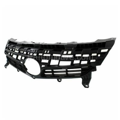 Aftermarket Replacement - GRL-2558C CAPA 12-15 Prius Front Grill Grille Gray Shell/Insert TO1200350 5311147040 - Image 2