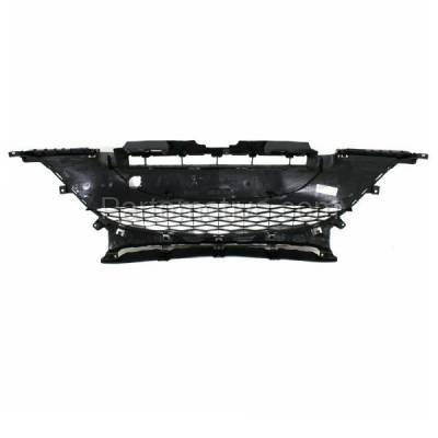 Aftermarket Replacement - GRL-2066C CAPA 10-11 Mazda3 2.0L Front Lower Bumper Grill Grille MA1036112 BBM4501T1H - Image 3