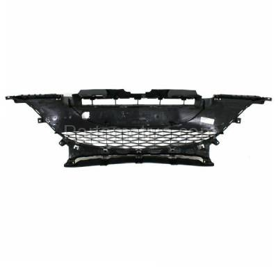 Aftermarket Replacement - GRL-2066C CAPA 10-11 Mazda3 2.0L Front Lower Bumper Grill Grille MA1036112 BBM4501T1H - Image 4