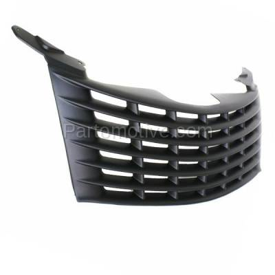 Aftermarket Replacement - GRL-1273C CAPA 01-05 PT Cruiser Front Grill Grille Primered Black CH1200241 5080979AA - Image 2