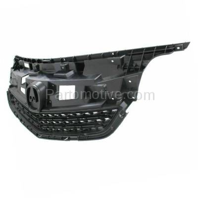 Aftermarket Replacement - GRL-1179C CAPA 12-14 Acura TL Front Grill Grille Mounting Panel AC1223100 75101TK4A11 - Image 2