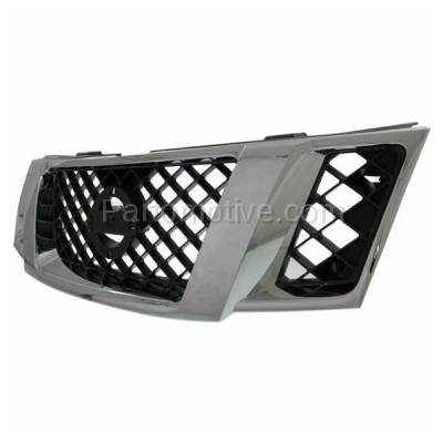 Aftermarket Replacement - GRL-2295C CAPA Front Face Bar Grill Grille NI1200251 62310ZS00A Fits 08-12 Pathfinder - Image 2