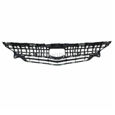 Aftermarket Replacement - GRL-2557C CAPA 12-14 Prius V Front Grill Grille Black/Chrome-Trim TO1200348 5310147010 - Image 3