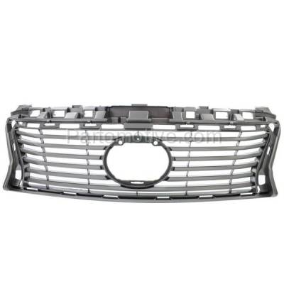 Aftermarket Replacement - GRL-2048C CAPA 13-15 ES-350/300h Front Grill Grille Primed Shell LX1200146 5311133440 - Image 1