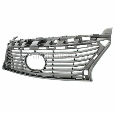Aftermarket Replacement - GRL-2048C CAPA 13-15 ES-350/300h Front Grill Grille Primed Shell LX1200146 5311133440 - Image 2
