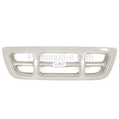 Aftermarket Replacement - GRL-1425C CAPA 98-00 Ranger Pickup Truck Front Grill Grille Gray FO1200343 F87Z8200JA - Image 1