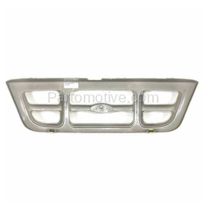 Aftermarket Replacement - GRL-1425C CAPA 98-00 Ranger Pickup Truck Front Grill Grille Gray FO1200343 F87Z8200JA - Image 3