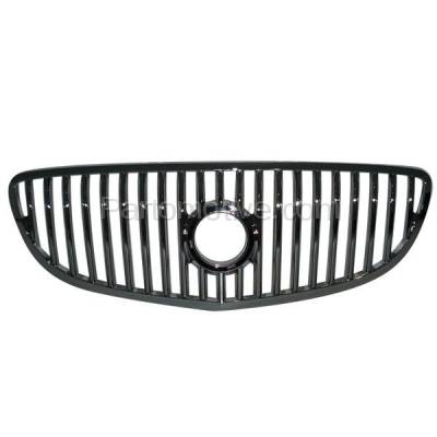 Aftermarket Replacement - GRL-1756C CAPA 08-09 LaCrosse Front Face Bar Grill Grille Chrome GM1200618 15889923 - Image 1