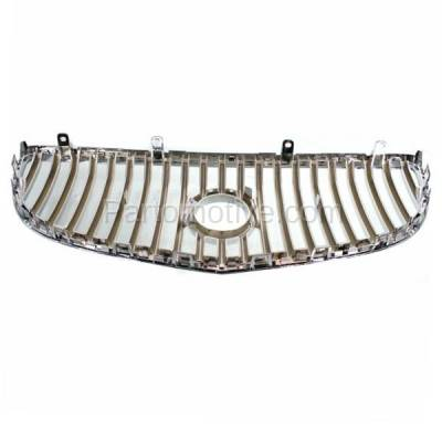 Aftermarket Replacement - GRL-1756C CAPA 08-09 LaCrosse Front Face Bar Grill Grille Chrome GM1200618 15889923 - Image 3