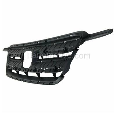 Aftermarket Replacement - GRL-1840C CAPA 05-06 CRV Front Face Bar Grill Grille Gray Shell HO1200177 71121S9A013 - Image 2