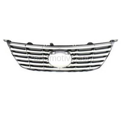 Aftermarket Replacement - GRL-2030C CAPA 07 08 09 ES-350 Front Grill Grille w/Radar Cruise LX1200126 5311133270 - Image 3