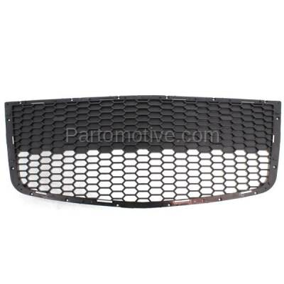 Aftermarket Replacement - GRL-1527C CAPA 09 10 11 Aveo5 Front Lower Bumper Grill Grille Black GM1036122 96813738 - Image 1