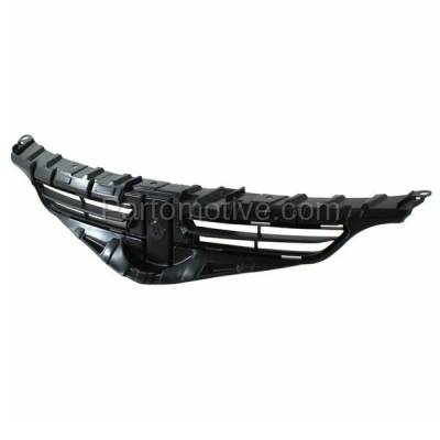 Aftermarket Replacement - GRL-2317C CAPA 11 12 13 tC Front Grill Grille Black Shell Insert SC1200107 5311121180 - Image 2