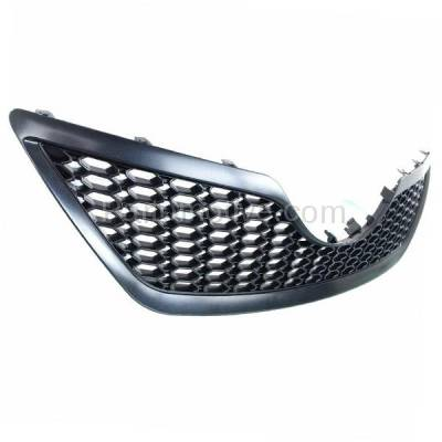 Aftermarket Replacement - GRL-2508C CAPA 07 08 09 Camry SE Front Grill Grille Black Shell TO1200291 5310106180C0 - Image 2