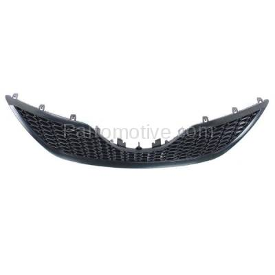 Aftermarket Replacement - GRL-2508C CAPA 07 08 09 Camry SE Front Grill Grille Black Shell TO1200291 5310106180C0 - Image 3