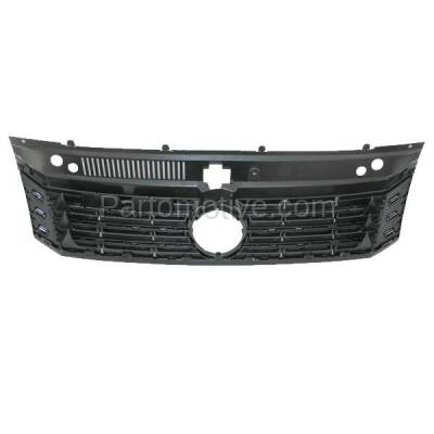 Aftermarket Replacement - GRL-2630C CAPA Aftermarket Front Grill Grille VW1200153 561853651AOQE - Image 3