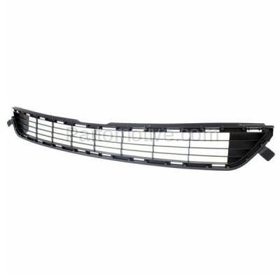 Aftermarket Replacement - GRL-2400C CAPA 13 14 15 RAV4 Front Lower Bumper Grill Grille Gray TO1036141 531120R030 - Image 2