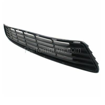 Aftermarket Replacement - GRL-2390C CAPA 12-14 Camry Front Lower Bumper Grill Grille Black TO1036128 5311206200 - Image 2