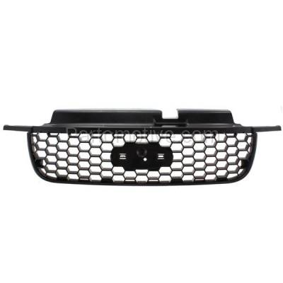 Aftermarket Replacement - GRL-1483C CAPA 05 06 07 Escape & Hybrid Grill Grille Black Shell FO1200446 5L8Z8200AAB - Image 1