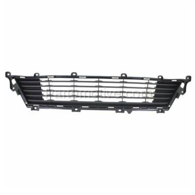 Aftermarket Replacement - GRL-2009C CAPA 13-15 ES-350 Front Lower Bumper Grill Grille Gray LX1036110 5311233150 - Image 1