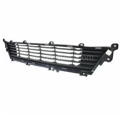 Aftermarket Replacement - GRL-2009C CAPA 13-15 ES-350 Front Lower Bumper Grill Grille Gray LX1036110 5311233150 - Image 2