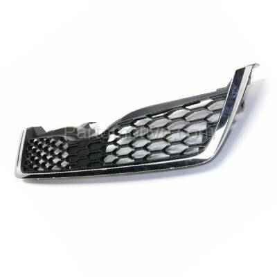 Aftermarket Replacement - GRL-2344C CAPA 14-15 Forester 2.0L Front Grill Grille Chrome/Gray SU1200153 91121SG060 - Image 2