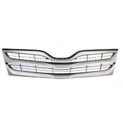 Aftermarket Replacement - GRL-2568C 2013-2016 Toyota Venza (AWD, Base, LE, Limited, XLE) 2.7 & 3.5 Liter Engine (Sport Utility 4-Door) Front Center Face Bar Grille Grill Assembly - Image 1