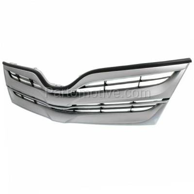 Aftermarket Replacement - GRL-2568C 2013-2016 Toyota Venza (AWD, Base, LE, Limited, XLE) 2.7 & 3.5 Liter Engine (Sport Utility 4-Door) Front Center Face Bar Grille Grill Assembly - Image 2