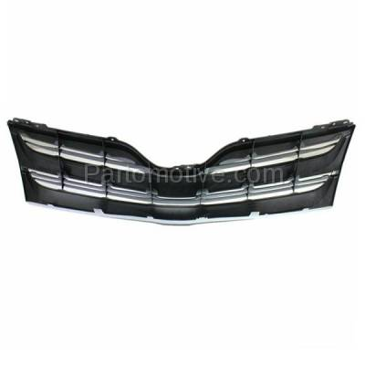 Aftermarket Replacement - GRL-2568C 2013-2016 Toyota Venza (AWD, Base, LE, Limited, XLE) 2.7 & 3.5 Liter Engine (Sport Utility 4-Door) Front Center Face Bar Grille Grill Assembly - Image 3